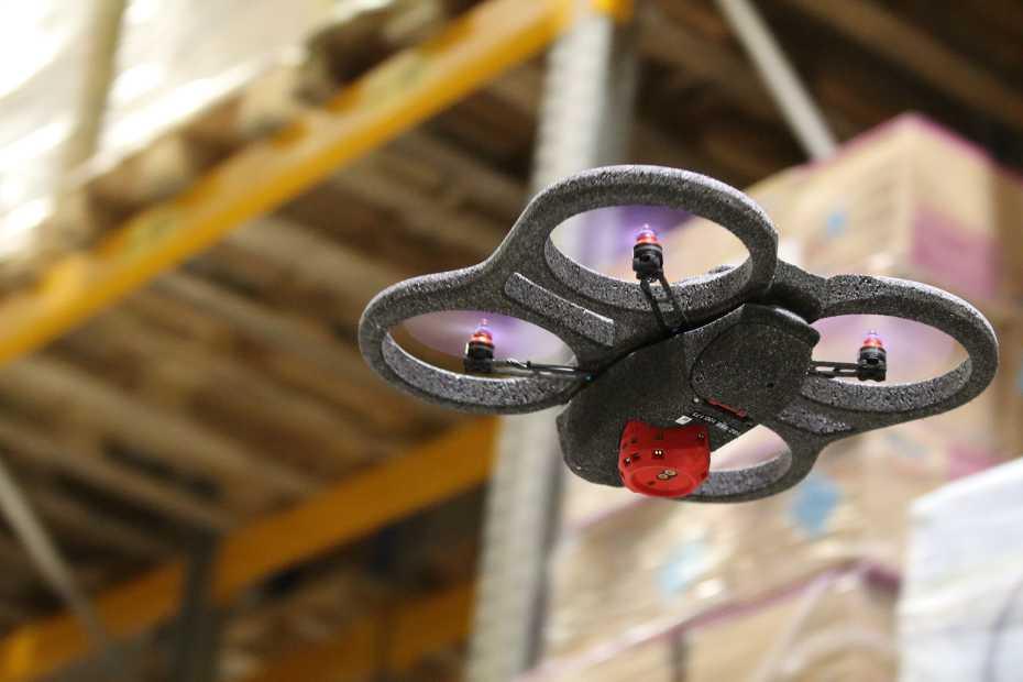 Swiss drones enable the zero-waste warehouse