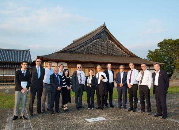 SCCIJ Kansai tours Novartis factory in Sasayama