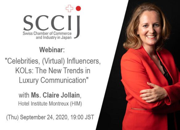 "Webinar: ""Celebrities, (Virtual) Influencers, KOLs: The New Trends in Luxury Communication"""