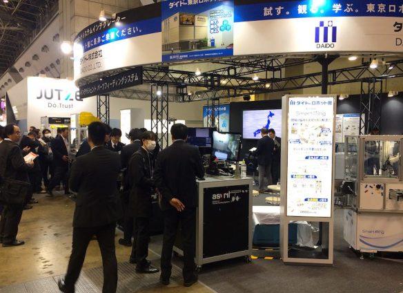 Swiss robot maker Asyril rides success wave in Japan