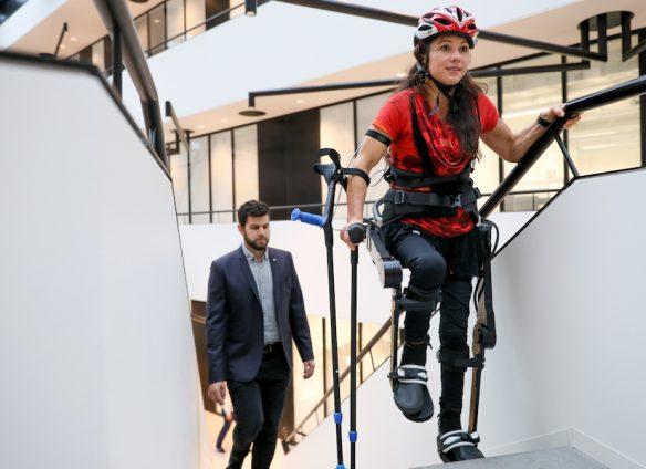 Promising Swiss help for paraplegics