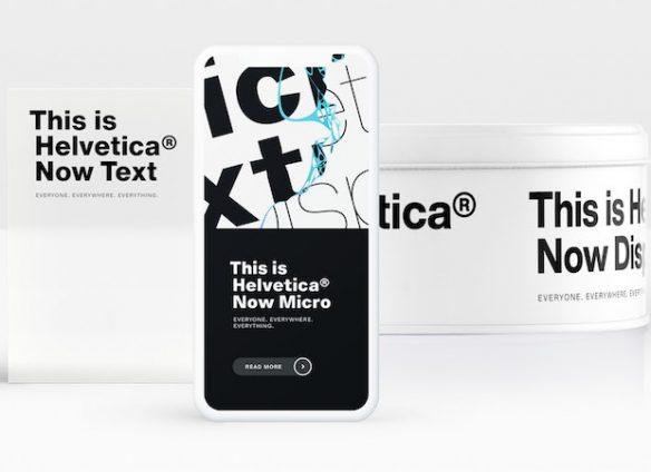 Legendary Swiss font Helvetica enters digital age