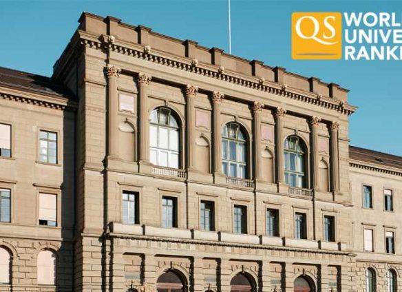 ETH Zurich now among global top six universities