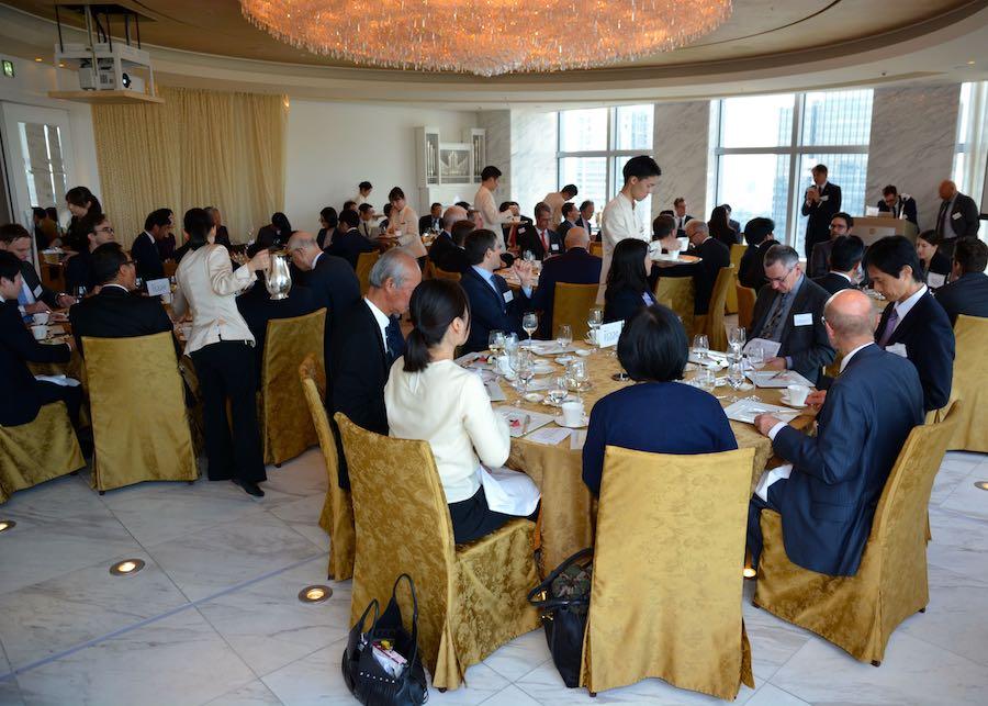 """Luncheon: Big benefits of the """"new"""" EBC"""