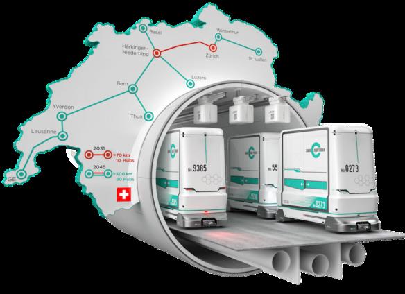 "Switzerland to build nationwide ""freight subway"""
