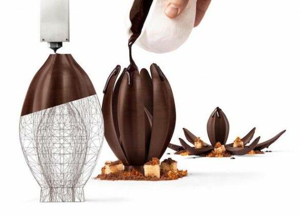 Now, Switzerland's top maker prints chocolate in 3D