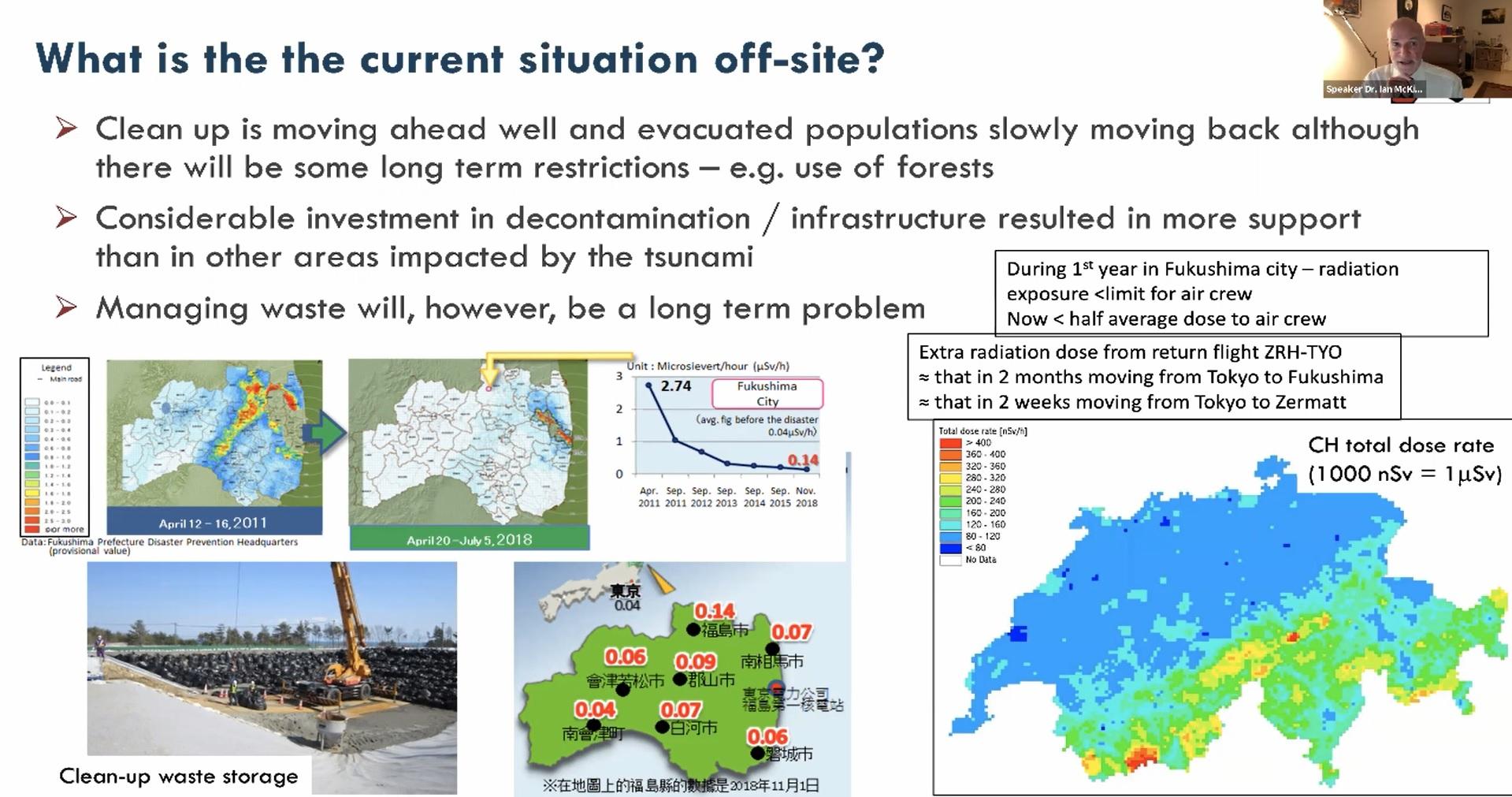 Webinar: An expert's perspective on Fukushima Daiichi