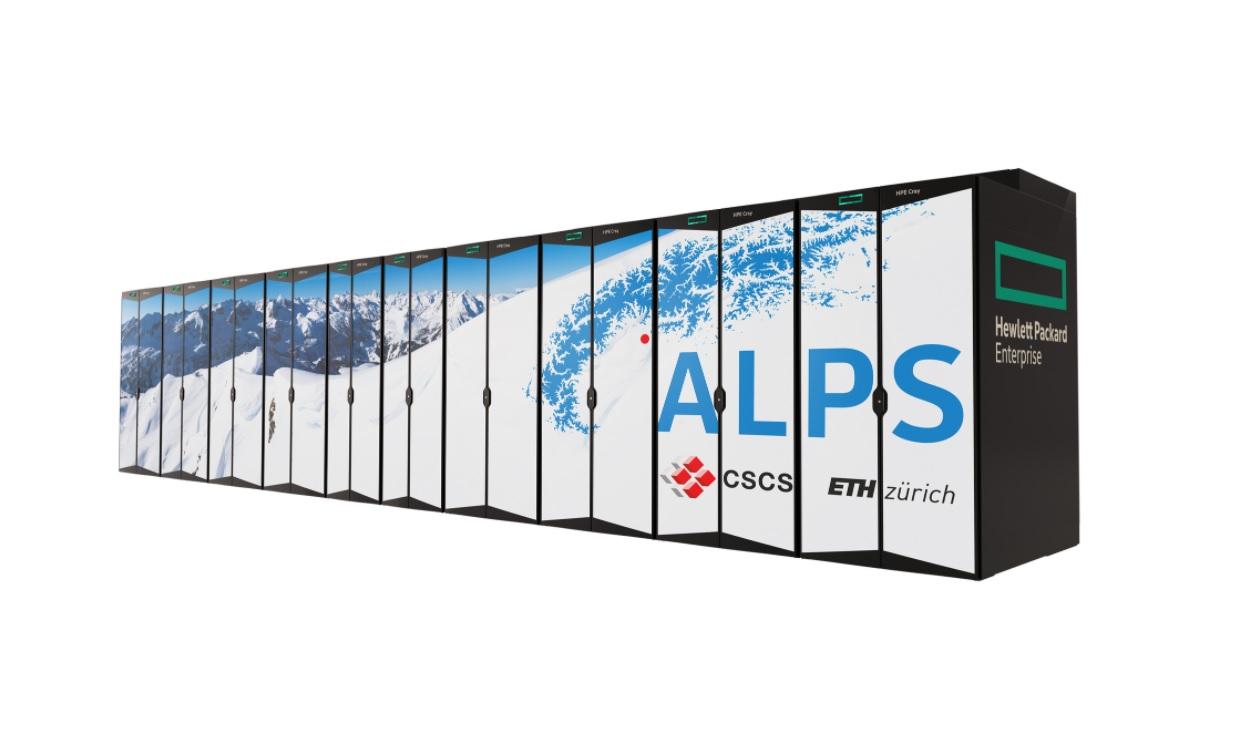 Switzerland constructs the world's fastest AI supercomputer