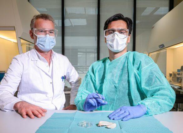 Swiss injectable gel repairs torn tissue