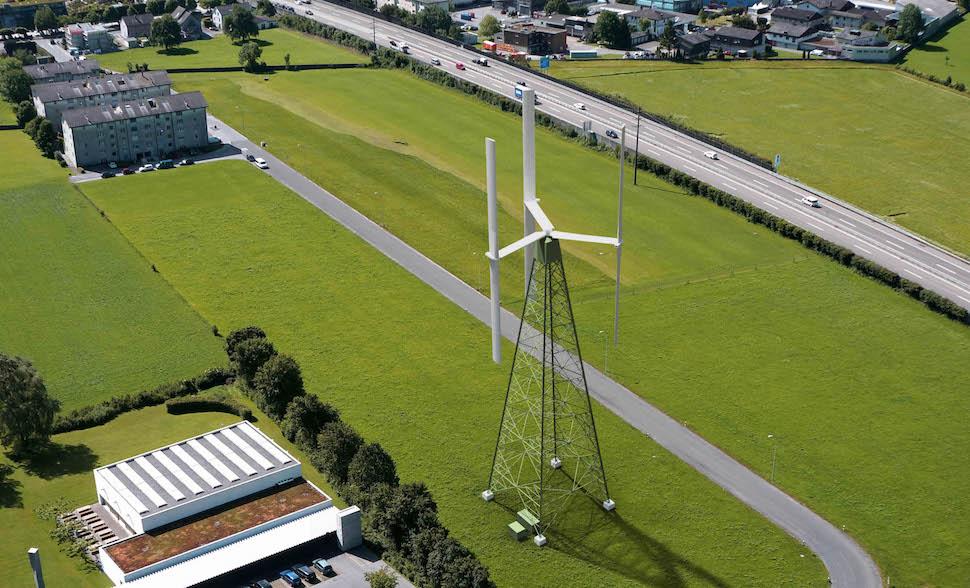 Switzerland fires up new wind power technology