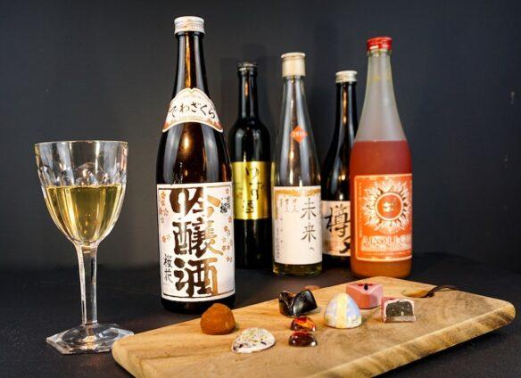 Swiss chocolate meets Japanese sake