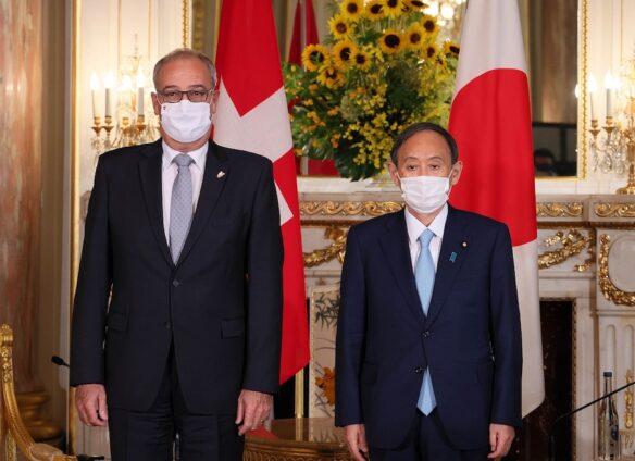 Swiss President Parmelin visits Japan