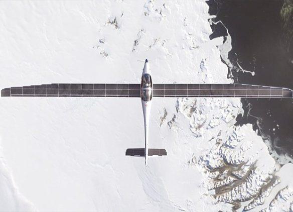Maiden flight of Swiss stratospheric solar plane