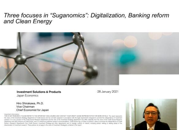 Webinar: Suganomics replaces Abenomics